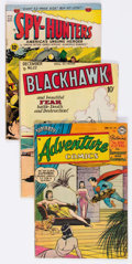 Golden Age (1938-1955):Miscellaneous, Golden Age Miscellaneous Comics Group of 10 (Various Publishers, 1940s-50s).... (Total: 10 Comic Books)