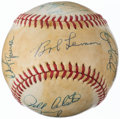 Autographs:Baseballs, 1977 New York Yankees - World Series Champions - Team SignedBaseball (18 Signatures).. ...