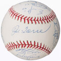 Autographs:Baseballs, 2004 New York Yankees Team Signed Baseball (23 Signatures).. ...