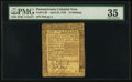 Colonial Notes:Pennsylvania, Pennsylvania April 25, 1759 15s PMG Choice Very Fine 35.. ...