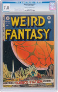 Golden Age (1938-1955):Science Fiction, Weird Fantasy #13 (EC, 1952) CGC FN/VF 7.0 Cream to off-white pages....