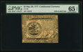 Colonial Notes:Continental Congress Issues, Continental Currency May 20, 1777 $5 PMG Gem Uncirculated 65 EPQ.. ...