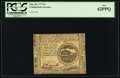 Colonial Notes:Continental Congress Issues, Continental Currency May 20, 1777 $4 PCGS New 62PPQ.. ...