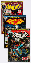 Bronze Age (1970-1979):Horror, Tomb of Dracula Group of 11 (Marvel, 1972-73) Condition: AverageFN/VF.... (Total: 11 Comic Books)