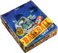 Non-Sport Cards:Unopened Packs/Display Boxes, 1980 Topps Super Baseball Cello Box With 24 Unopened Packs....