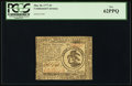 Colonial Notes:Continental Congress Issues, Continental Currency May 20, 1777 $3 PCGS New 62PPQ.. ...