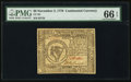 Colonial Notes:Continental Congress Issues, Continental Currency November 2, 1776 $8 PMG Gem Uncirculated 66EPQ.. ...
