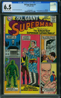 Silver Age (1956-1969):Superhero, 80 Page Giant 11 Lex Luthor (DC, 1965) CGC FN+ 6.5 OFF-WHITE TOWHITE pages.