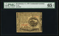 Colonial Notes:Continental Congress Issues, Continental Currency February 17, 1776 $4 PMG Gem Uncirculated 65 EPQ.. ...