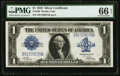 Large Size:Silver Certificates, Fr. 239 $1 1923 Silver Certificate PMG Gem Uncirculated 66 EPQ.....