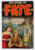 Golden Age (1938-1955):Horror, The Hand of Fate #10 (Ace, 1952) Condition: GD/VG....