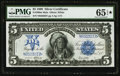 Large Size:Silver Certificates, Fr. 280 $5 1899 Mule Silver Certificate PMG Gem Uncirculated 65EPQ*.. ...