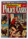 Golden Age (1938-1955):Crime, Authentic Police Cases #33 (St. John, 1954) Condition: GD....
