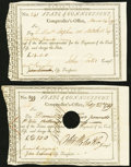Colonial Notes:Connecticut, Connecticut Civil Lists £18; £2.10s 1789-95 Two Examples.. ...(Total: 2 notes)