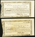 Colonial Notes:Connecticut, Connecticut Treasury Certificates 4s.4d; £7.13s.5d June 1, 1782Anderson CT-19 About New or Better.. ... (Tota...