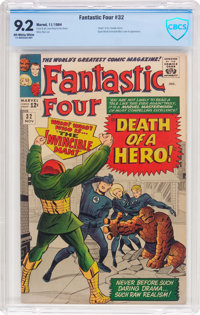 Fantastic Four #32 (Marvel, 1964) CBCS NM- 9.2 Off-white to white pages