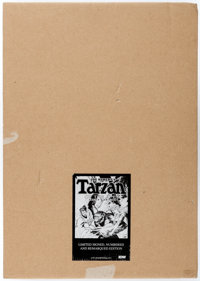 Joe Kubert's Tarzan of the Apes: Artist's Edition Signed, Remarqued Limited Edition Hardcover (IDW, 2011)
