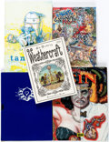 Books:Miscellaneous, Underground Comics Related Hardcover First Edition Books Group of 5(Various Publishers, 1998-2012).... (Total: 5 Items)