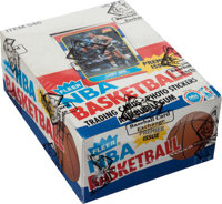 1986 Fleer Basketball Wax Box With 36 Unopened Packs
