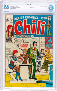 Chili #3 (Marvel, 1969) CBCS NM+ 9.6 Cream to off-white pages