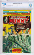 Bronze Age (1970-1979):Horror, Supernatural Thrillers #9 (Marvel, 1974) CBCS NM/MT 9.8 Whitepages....