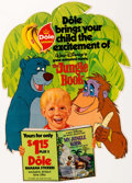 Animation Art:Poster, The Jungle Book Die-Cut Store Display (Walt Disney,1978)....