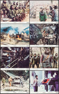 """Movie Posters:Science Fiction, Battle for the Planet of the Apes (20th Century Fox, 1973). MiniLobby Card Set of 8 (8"""" X 10""""). Science Fiction.. ... (Total: 8Items)"""