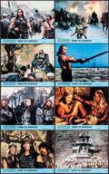 "Movie Posters:Action, Conan the Barbarian (Universal, 1982). Mini Lobby Card Set of 8 (8"" X 10""). Action.. ... (Total: 8 Items)"