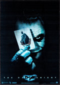 "Movie Posters:Action, The Dark Knight (Warner Brothers, 2008). British Lenticular Poster (11.75"" X 16.5""). Action.. ..."