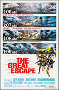 "Movie Posters:War, The Great Escape (United Artists, R-1980). International One Sheet(27"" X 41"") Frank McCarthy Artwork. War.. ..."