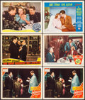 "Movie Posters:Romance, The Shopworn Angel & Others Lot (MGM, 1938). Lobby Cards (6) (11"" X 14""). Romance.. ... (Total: 6 Items)"