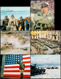 """Movie Posters:War, Patton (20th Century Fox, 1970). Deluxe Jumbo Lobby Cards (6) (16""""X 20""""). War.. ... (Total: 6 Items)"""
