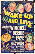 "Movie Posters:Musical, Wake Up and Live (20th Century Fox, 1937). One Sheet (27"" X 41"")Style A. Musical.. ..."