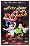 """Movie Posters:Animation, Mickey Mouse Disco & Others Lot (Buena Vista, 1980). One Sheets (3) (27"""", 27.25"""" X 41""""). Animation.. ... (Total: 3 Items)"""