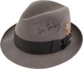 Football Collectibles:Others, 1990's Tom Landry Signed Fedora....
