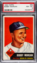 Baseball Cards:Singles (1950-1959), 1953 Topps Bobby Morgan #85 PSA NM-MT 8 - Only Two Higher....