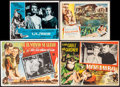 """Movie Posters:Academy Award Winners, Gone with the Wind & Others Lot (MGM, R-1970s). Mexican LobbyCards (3) (11"""" X 14"""" & 13"""" X 16.5""""), Lobby Card (11"""" X 14""""),&... (Total: 5 Items)"""