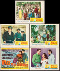 """Movie Posters:Adventure, Wake of the Red Witch (Republic, 1949). Title Lobby Card, Lobby Cards (4) (11"""" X 14"""") & Uncut Pressbook (24 Pages, 12"""" X 18""""... (Total: 6 Items)"""