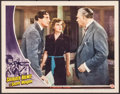 """Movie Posters:Crime, Sherlock Holmes and the Secret Weapon (Universal, 1942). Lobby Card(11"""" X 14""""). Crime.. ..."""
