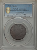 Large Cents, 1793 1C Chain, AMERICA, Periods, S-4, B-5, R.3 -- Environmental Damage -- PCGS Genuine. Poor / Fair Details....