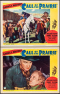 """Movie Posters:Western, Call of the Prairie (Paramount, 1936). Lobby Cards (2) (11"""" X 14""""). Western.. ... (Total: 2 Items)"""