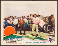 """The Glorious Trail (First National, 1928). Lobby Card (11"""" X 14""""). Western"""