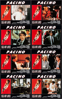 """Sea of Love & Other Lot (United International, 1989). International Lobby Card Sets of 8 (2 Sets) (11"""" X 14&quo..."""