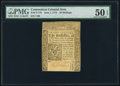 Colonial Notes:Connecticut, Connecticut June 1, 1773 20s PMG About Uncirculated 50 EPQ...