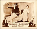 "Movie Posters:Comedy, Early to Bed (MGM, 1928). Lobby Card (11"" X 14"").. ..."