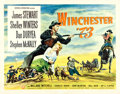 "Movie Posters:Western, Winchester '73 (Universal International, 1950). Half Sheet (22"" X28"") Style B.. ..."