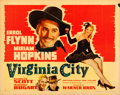 Movie Posters:Western, Virginia City (Warner Brothers, 1940). Linen Finis...