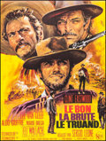 """Movie Posters:Western, The Good, the Bad and the Ugly (United Artists, R-1970s). French Grande (46.25"""" X 61"""") Jean Mascii Artwork. Western.. ..."""