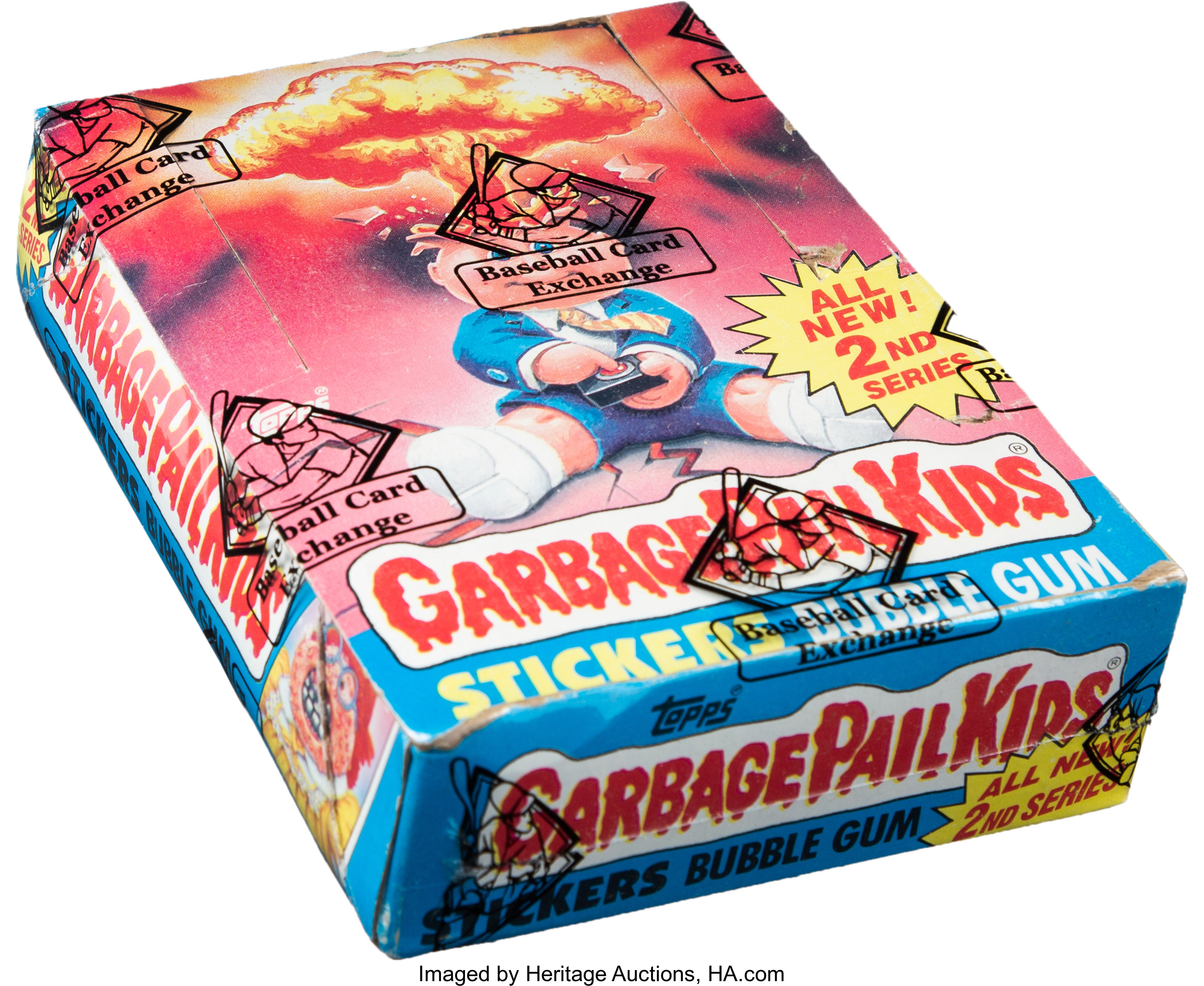 1985 Topps Garbage Pail Kids Series 2 Wax Box With 48 Unopened Lot 50950 Heritage Auctions