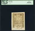 Colonial Notes:Rhode Island, Rhode Island May 1786 6s PCGS Gem New 66PPQ.. ...